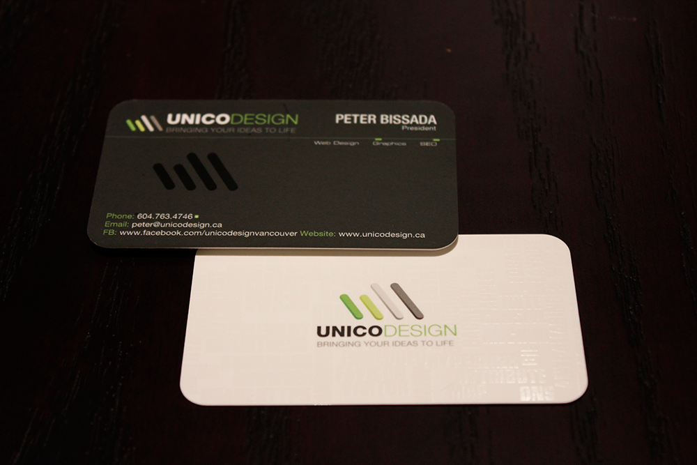 Unico Design - Business Card - Unico Design